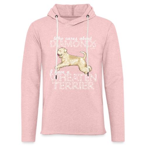 Wheaten Terrier Diamonds 4 - Light Unisex Sweatshirt Hoodie