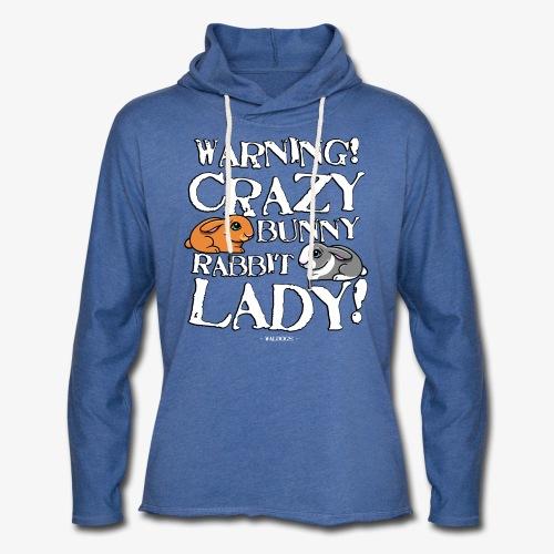Crazy Bunny Lady 3 - Kevyt unisex-huppari