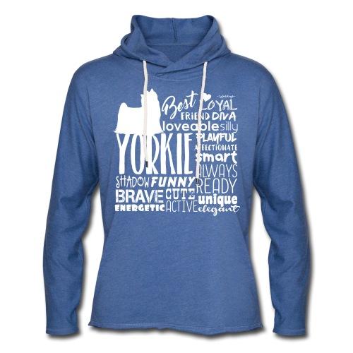 Yorkshire Terrier Words W - Kevyt unisex-huppari