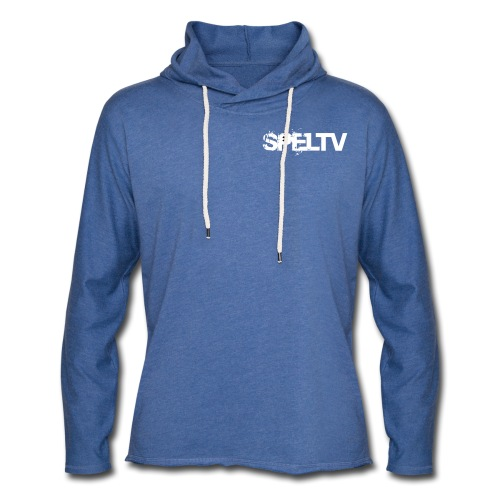 spelTV logo small simple - Lätt luvtröja unisex