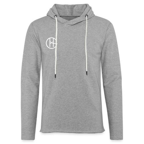 Hookgrip logo black - Lett unisex hette-sweatshirt