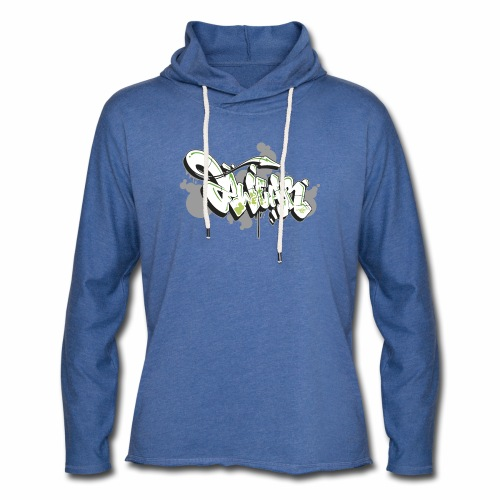 Mesk 2Wear graffiti style 7up ver02 - Let sweatshirt med hætte, unisex
