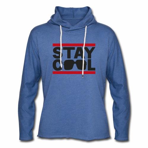 Stay Cool ver01 - Let sweatshirt med hætte, unisex