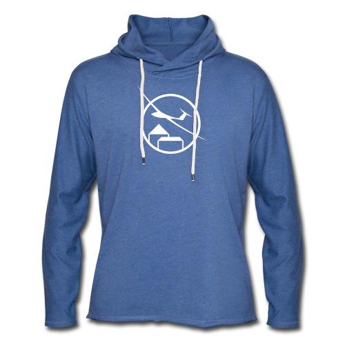 fc logo dark single v1 - Leichtes Kapuzensweatshirt Unisex