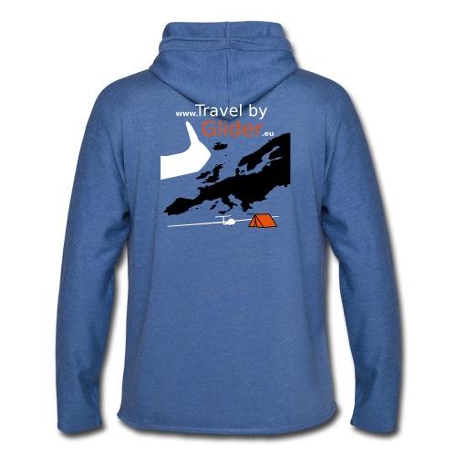 TravelByGlider_Shirt_Logo - Leichtes Kapuzensweatshirt Unisex