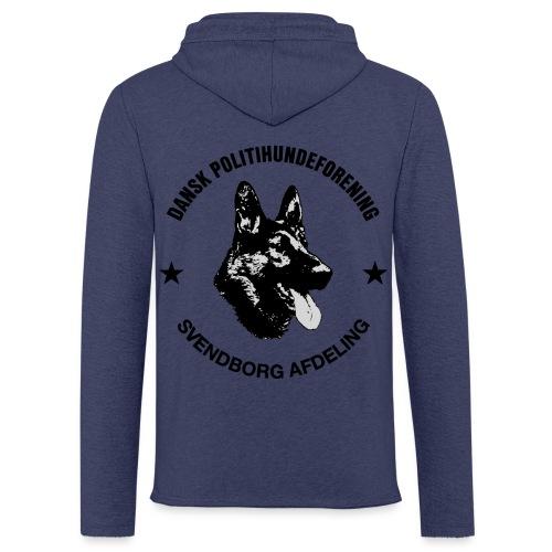 Svendborg ph sort - Let sweatshirt med hætte, unisex