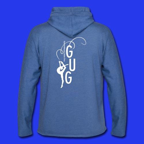 GUG logo - Leichtes Kapuzensweatshirt Unisex
