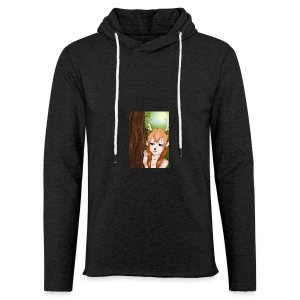 Sam sung s6:Deer-girl design by Tina Ditte - Light Unisex Sweatshirt Hoodie