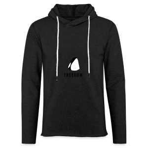 Whales for Freedom - Light Unisex Sweatshirt Hoodie