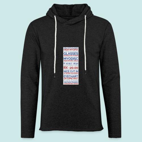 Myopia Poster 3 - Sweat-shirt à capuche léger unisexe