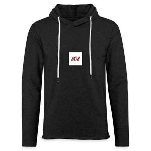 808 red on white box logo - Light Unisex Sweatshirt Hoodie