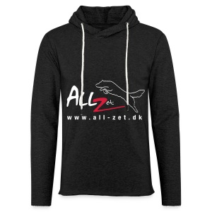 All Zet Logo - Let sweatshirt med hætte, unisex