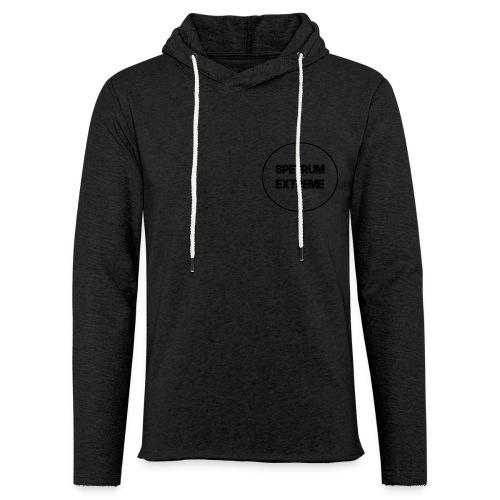 Front White Long Sleve - Light Unisex Sweatshirt Hoodie