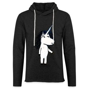 Angry unicorn - Light Unisex Sweatshirt Hoodie