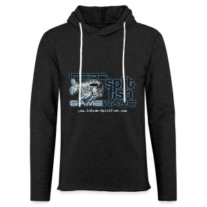 InSide SplitFish Collection - Leichtes Kapuzensweatshirt Unisex