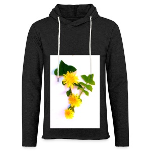 Margaritas 3d by The Cat Project - Sudadera ligera unisex con capucha