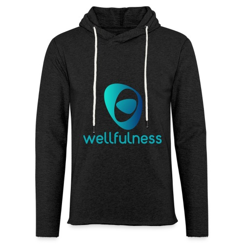 Wellfulness Original - Sudadera ligera unisex con capucha