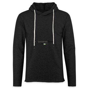 aGermanTeam_black - Leichtes Kapuzensweatshirt Unisex