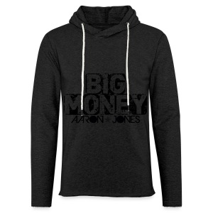Big Money aaron jones - Felpa con cappuccio leggera unisex
