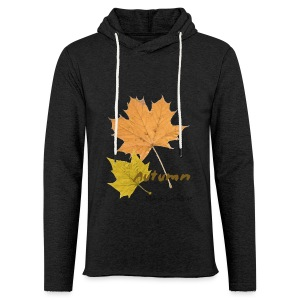 Streetworker art by Marcello Luce - autumn 2018 - Leichtes Kapuzensweatshirt Unisex
