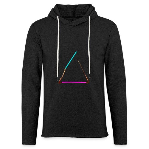 3eck - Dreieck - triangle - Leichtes Kapuzensweatshirt Unisex