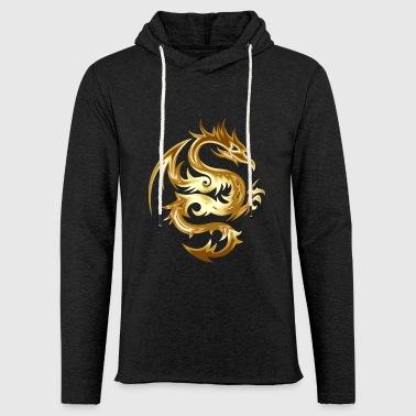 dragon - Sweat-shirt à capuche léger unisexe