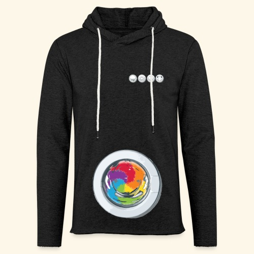 Rainbow Laundry-Unisex - Light Unisex Sweatshirt Hoodie