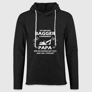 Bagger Papa - Leichtes Kapuzensweatshirt Unisex