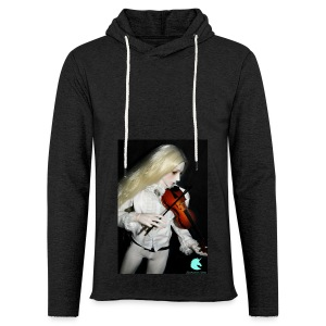Vampire Violin Gothic Music Fantasy Enchanted - Light Unisex Sweatshirt Hoodie
