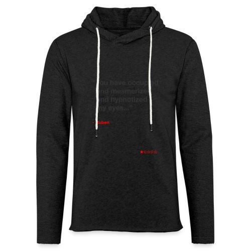Mesmerized by Ruben - Let sweatshirt med hætte, unisex