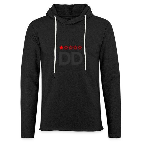 Dårligdommerne simpelt logo - Let sweatshirt med hætte, unisex