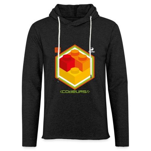 Esprit Brickodeurs - Sweat-shirt à capuche léger unisexe