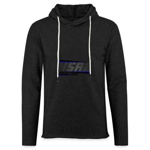 t-shirt zwart lange mouwen - Lichte hoodie unisex