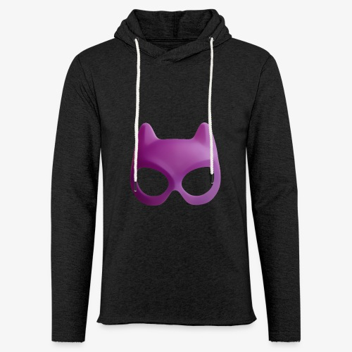 Bat Mask - Lekka bluza z kapturem – typu unisex