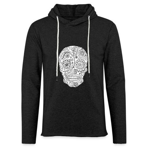 Sugar Skull - Sweat-shirt à capuche léger unisexe