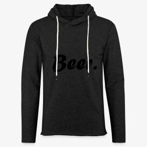 Simple Beer. - Lichte hoodie unisex