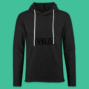 Velo Icon Blk - Long Sleeve Baseball Shirt W/N Clr - Light Unisex Sweatshirt Hoodie