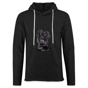 flatcoated retriever p - Let sweatshirt med hætte, unisex