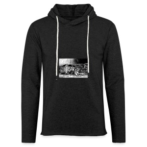 Scarlett Bush hiding from Zombies in Virginia - Light Unisex Sweatshirt Hoodie