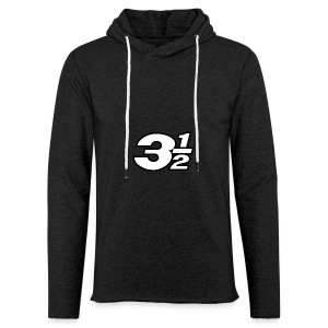 Three and a Half Logo - Light Unisex Sweatshirt Hoodie