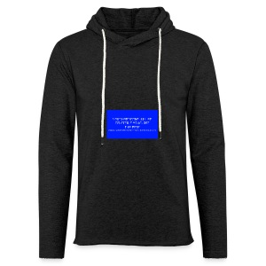 Hard Drive Deleted Notice - Light Unisex Sweatshirt Hoodie