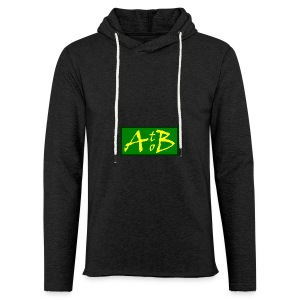 AtoB Logo green / yellow - Light Unisex Sweatshirt Hoodie