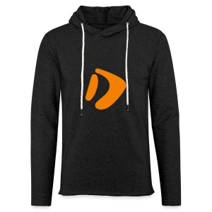Logo D Orange DomesSport - Leichtes Kapuzensweatshirt Unisex