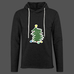 Christmas Kids-Drawing - Leichtes Kapuzensweatshirt Unisex
