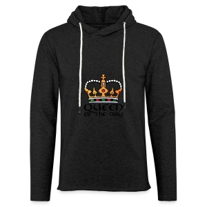 Queen of the day - Leichtes Kapuzensweatshirt Unisex