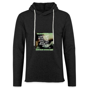 love your body - Light Unisex Sweatshirt Hoodie