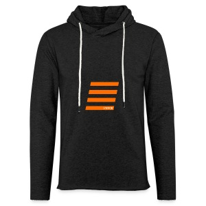 Orange Bars - Leichtes Kapuzensweatshirt Unisex