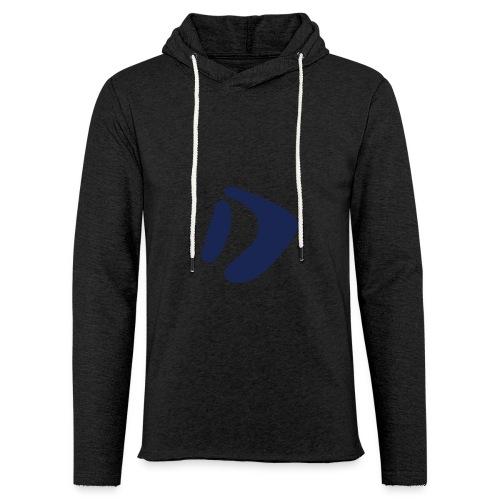 Logo D Blue DomesSport - Leichtes Kapuzensweatshirt Unisex