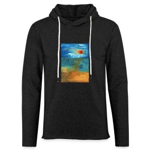 It Was a Sea - Lekka bluza z kapturem – typu unisex