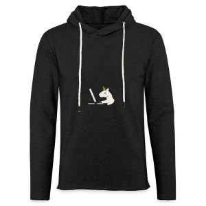 Unicorn Work - Light Unisex Sweatshirt Hoodie